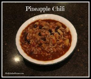 pineapple chili