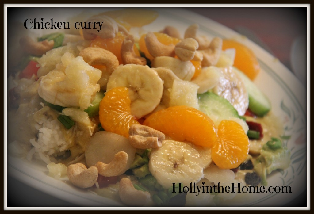 chicken curry - HollyintheHome.com
